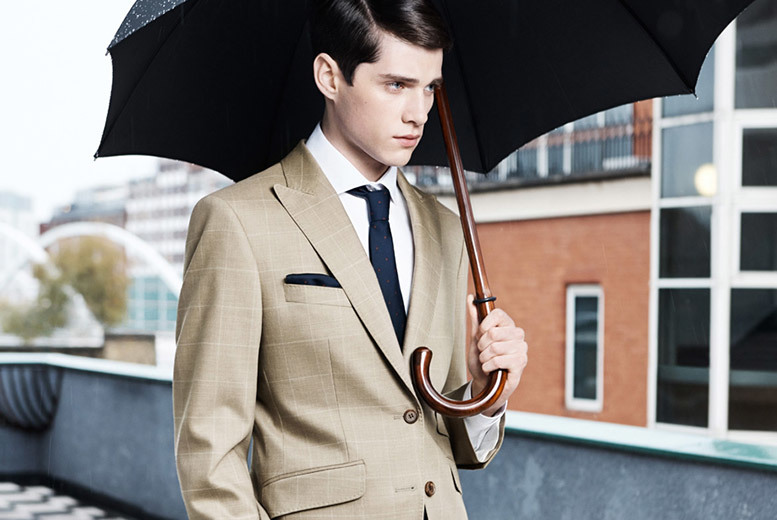 £399 instead of £990 for a bespoke two-piece suit, or £479 for a three-piece suit at Harris and Zei - choose from 14 locations and save up to 60%