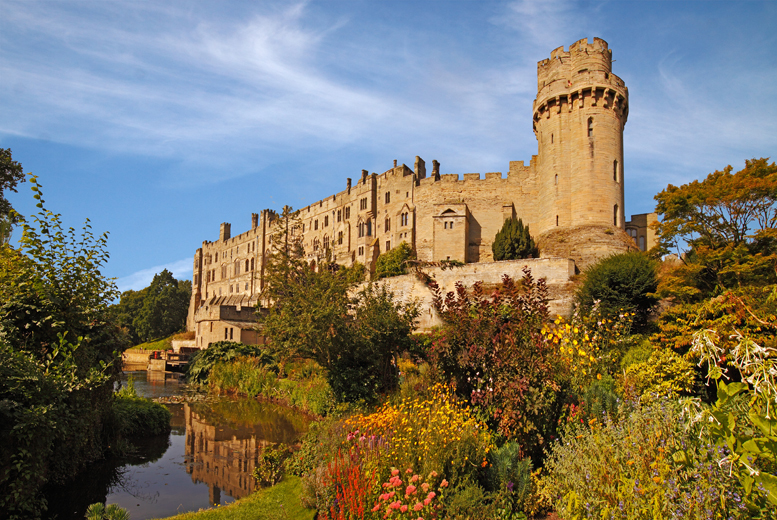 From £48 for a day-long Spooks & Shakespeare coach tour to Stratford-upon-Avon and Warwick Castle with Abbey Tours - save up to 54%