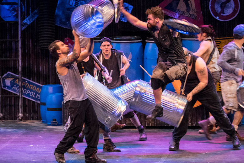 £20 instead of £27.50 for a band A ticket to see Stomp live at the New Theatre, Oxford - save £7.50