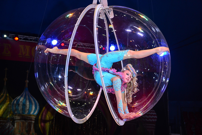 £14 instead of £30 for a grandstand ticket to the Moscow State Circus at The O2, London - save 53%