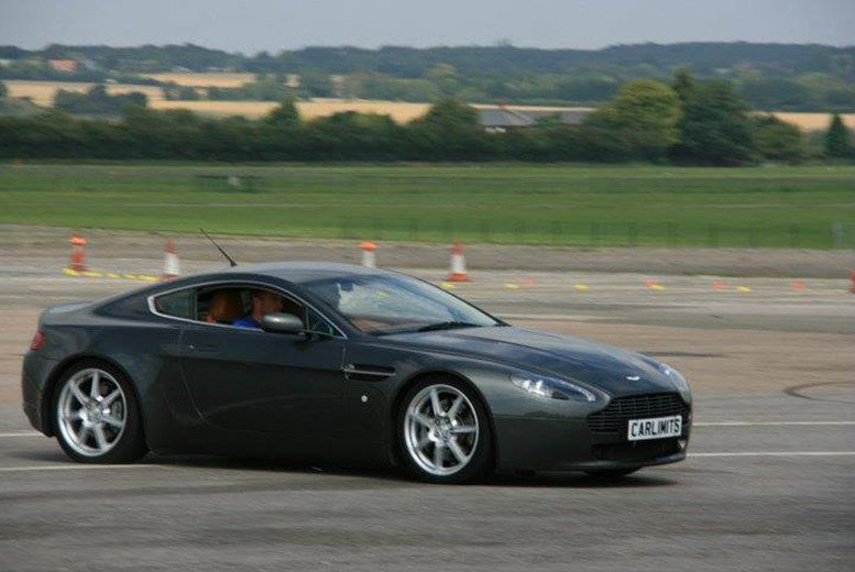£39 for a three-lap Aston Martin test drive experience on a weekday, £49 on weekends with Supercar Test Drives - choose from four locations and save up to 78%