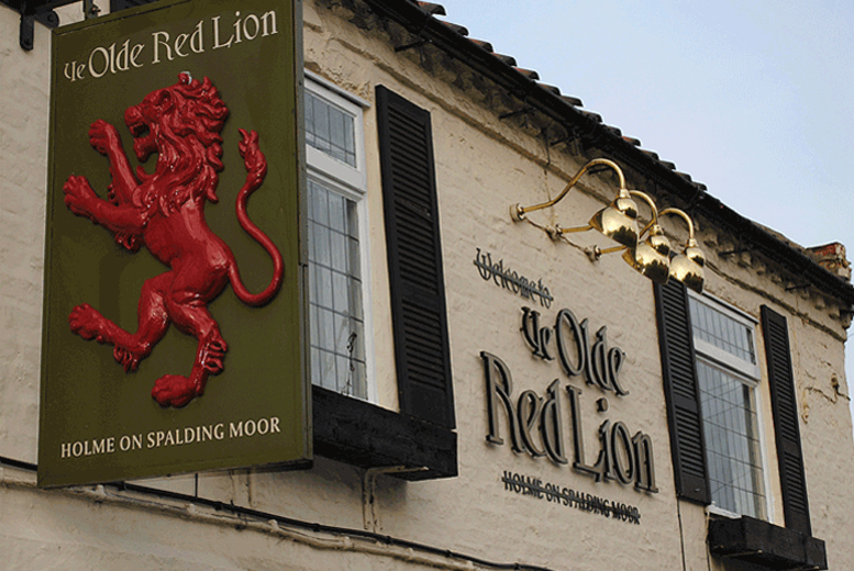 £49 (at Ye Olde Red Lion Hotel) for a two-night Yorkshire stay for two in a twin or double bedroom with a full English breakfast - save up to 59%