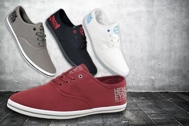 £8.99 instead of £49.99 (from The Fashion City) for a pair of men's Henleys lace up canvas shoes - choose from four colours and save 82%