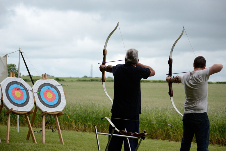 £39 instead of £108 for a three-hour archery, axe throwing and shooting experience at On Targett Events, Milton Keynes - save 64%