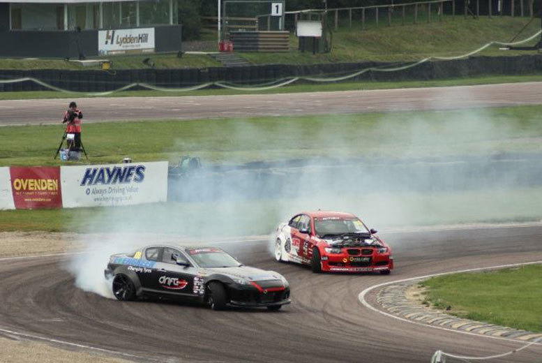 £65 instead of £199 for a two-hour drifting experience and passenger 'thrill' ride for one person at Drift Elite, Throckmorton Airfield - save 67%