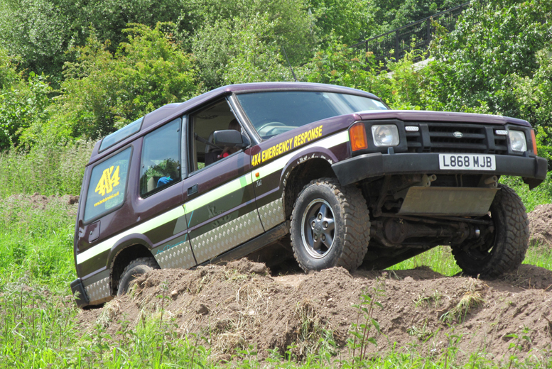 £44 instead of £119 for an adult or junior 4x4 driving experience with Dorset Activities - choose from two locations and save 63%