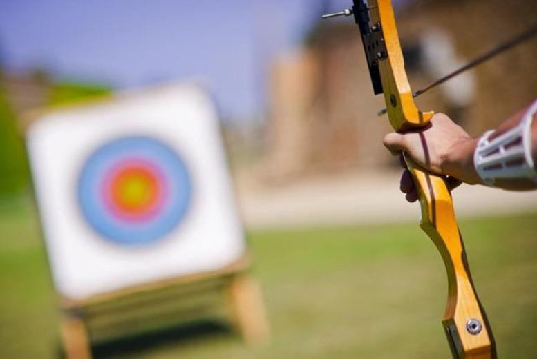 £17 for a 2½-hour axe throwing, air rifle, archery or crossbow experience for one, £32 for two, £68 for four or £99 for six with Unlimited Madness - save up to 56%