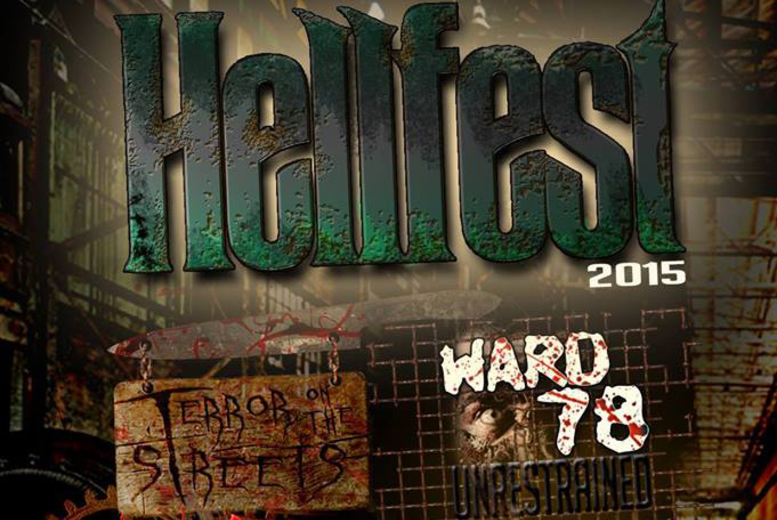 £12 instead of £25 for entry to Hellfest 2015 from Twisted Attractions, Birmingham - save 52%