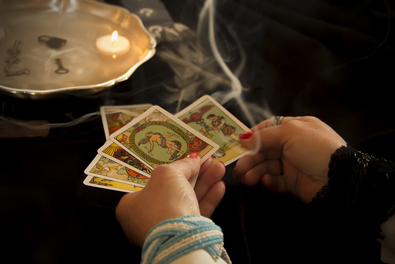 £4 instead of up to £15 for a tarot card reading via email, £9 for a 30min rading via a phone call, £14 for a 30min face-to-face reading at Rachanaa Jain - save up to 73%