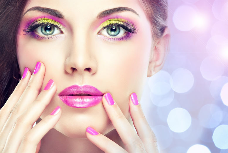 £16 instead of £71 for a gel manicure and pedicure, plus nail art from Aureate Beauty, Heywood - save 77%