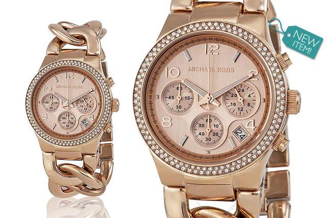 Ladies Michael Kors MK3247 Runway Twist Watch