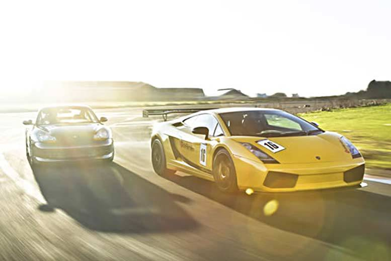 £79 instead of £159 for a 90-minute Lamborghini Gallardo driving experience at Drift Limits, Hemel Hempstead - feed your need for speed and save 50%