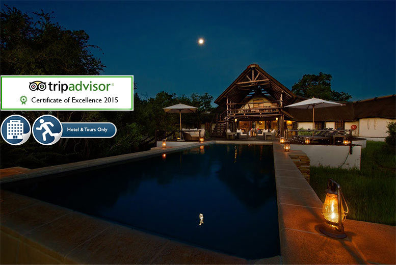 From £519pp for a five-night 5* all-inclusive stay at The Vuyani Safari Lodge, South Africa, from