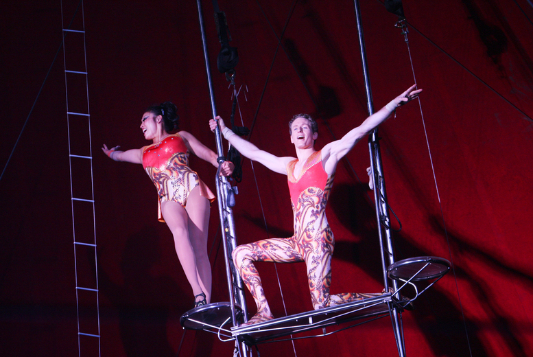 £7.50 instead of up to £15 for a front circle ticket to the Netherlands National Circus at Paignton Green, Torbay - save up to 50%
