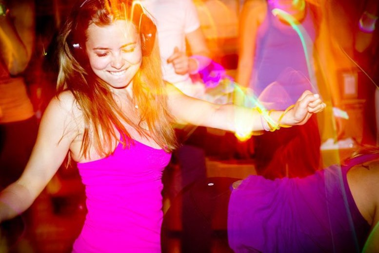 £7 instead of £34 for a session of silent disco aerobics with NMP Events, Hackney Wick - rave yourself into great shape and save 79%