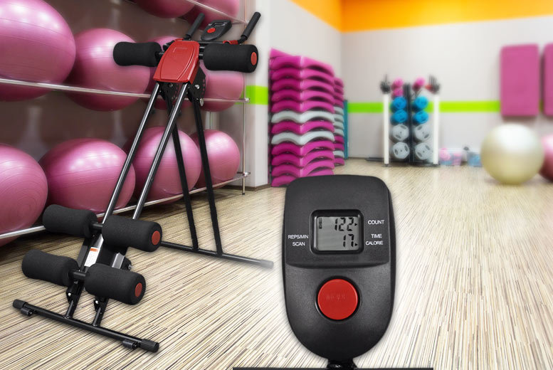 £39 instead of £81 (from Vida XL) for a foldable ab trainer with display - save 52%