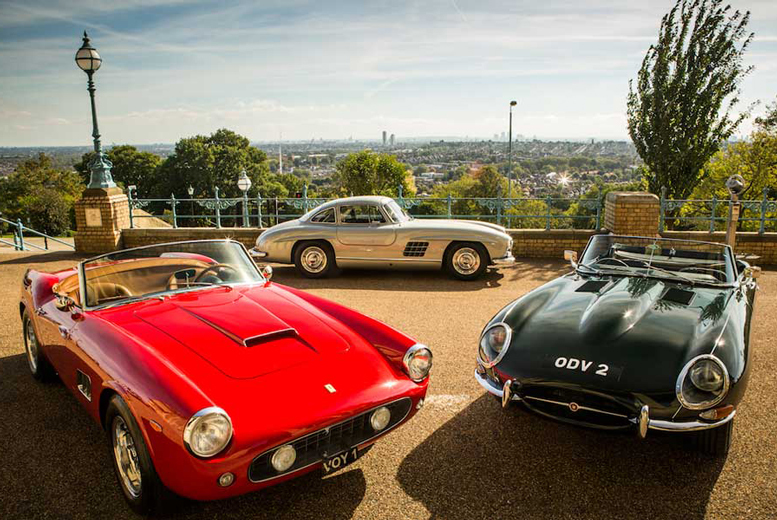£12 instead of £25 for an adult ticket to The Classic and Sports Car Show, London on 30th Oct, 31st Oct or 1st Nov 2015 - save 52%
