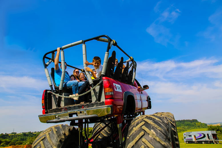 From £19 for a monster truck ride and car crushing experience for one person, from £35 for two people or £55 for four people at Wicked Adventures - save up to 52%