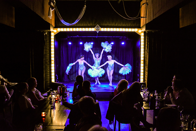 £22 instead of £46 for a two-course meal and choice of cabaret show for two people at Wild Cabaret, Glasgow - save 52%