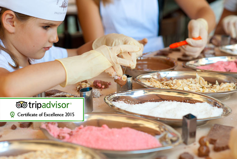£7.99 instead of £15.98 for a one-hour chocolate workshop for two children at The Kandy Factory, Burton-upon-Trent - save 50%