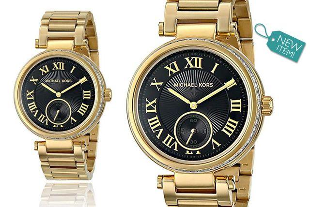 Ladies Michael Kors Gold-Plated Skylar MK5989 Watch