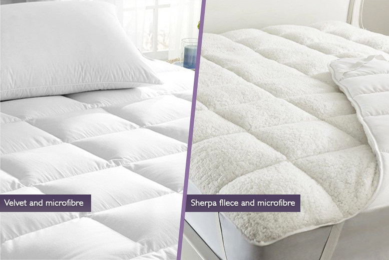 Reversible Mattress Topper