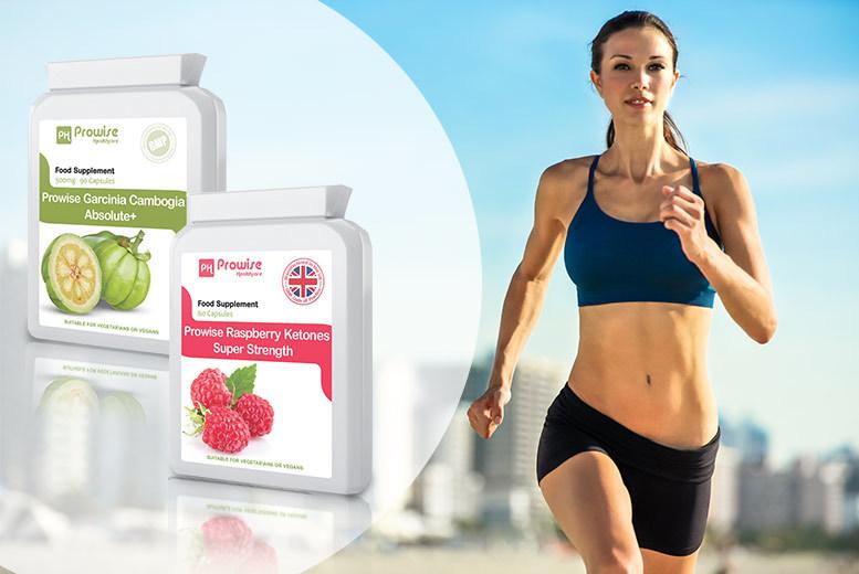 'Super Strength' Raspberry Ketones and Garcinia Cambogia Absolute+ Capsules