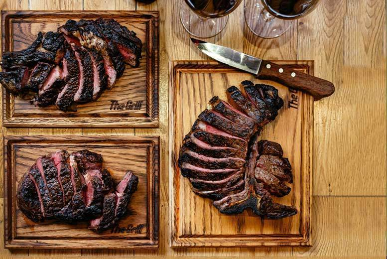 3-Course Dining and Bottle of Wine for 2 @ The Grill at McQueen, Shoreditch