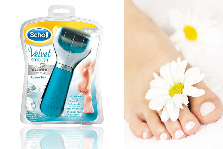 The Best Deal Guide - Scholl Velvet Electronic Express Foot File