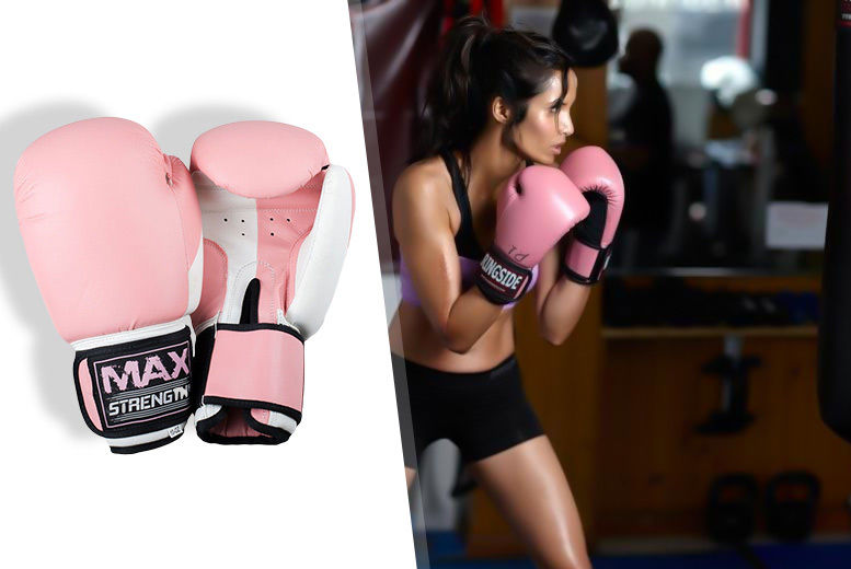 The Best Deal Guide - 12oz Pink Boxing Gloves
