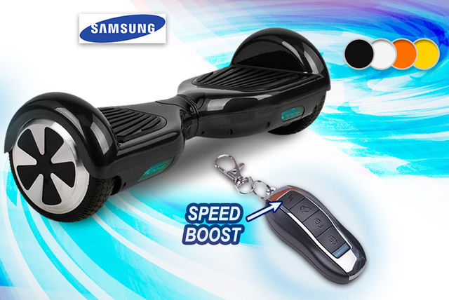 electric hoverboard powered by samsung 4 colours. Black Bedroom Furniture Sets. Home Design Ideas