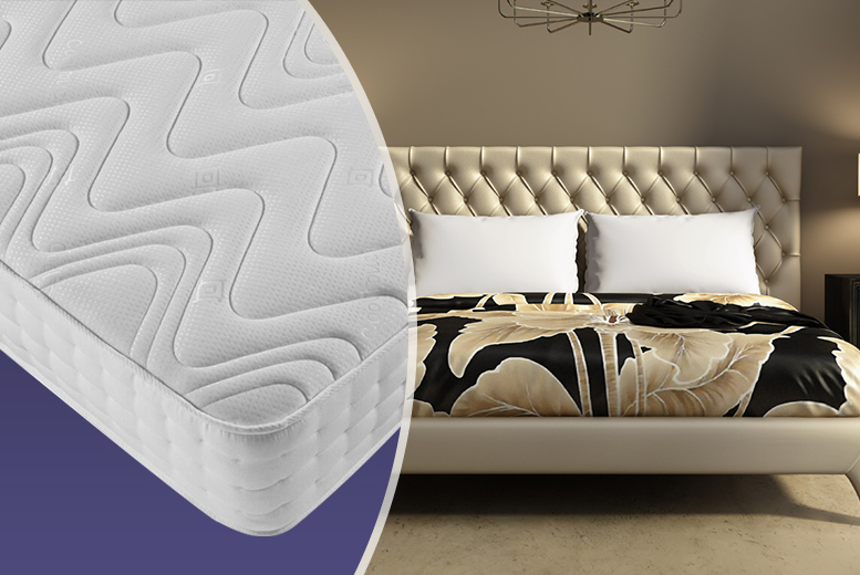 Luxury Deep Memory Sprung Mattress