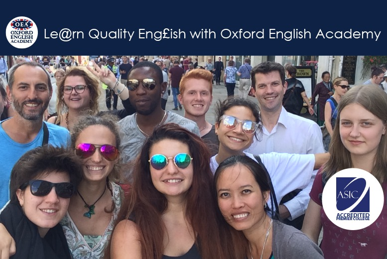 Oxford: 60hrs of General English & Conversation from £250