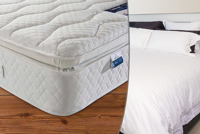 Silentnight® Geltex Pillowtop Mattress