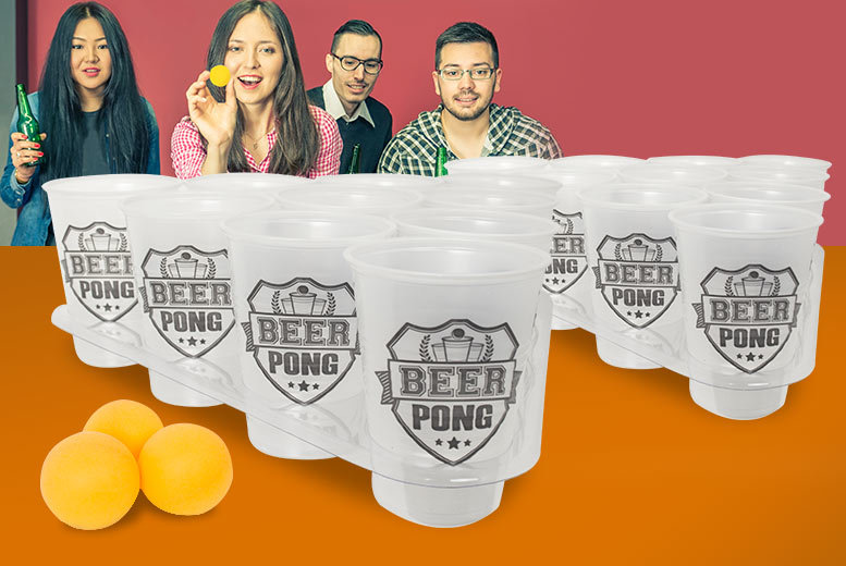 £8.99 instead of £15 (from Urshu) for a 28-piece beer pong kit - save 40%