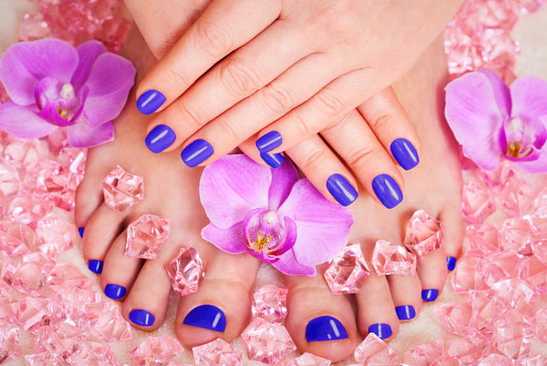 Gel pedicure glasgow