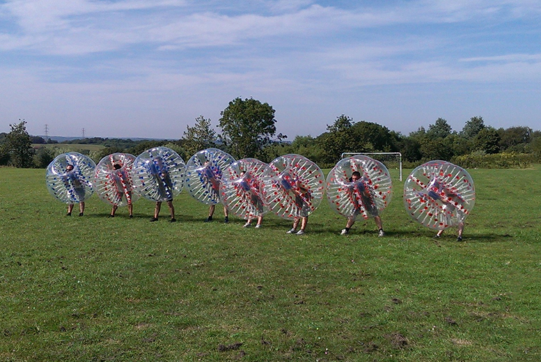 From £149 for a one-hour zorb football experience for up to 15 people with Bubble Boys Ltd - save up to 50%