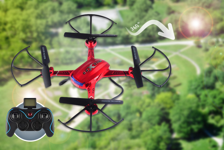 £59 instead of £180 for a Nibiru XR-1 remote-controlled drone quadrocopter with photo and video surveillance - save 67%