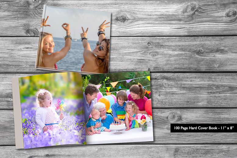 "£15 instead of £92.99 (from Dip into Sales) for an 11""x 8"" 100 page hard cover landscape photobook - save 84%"