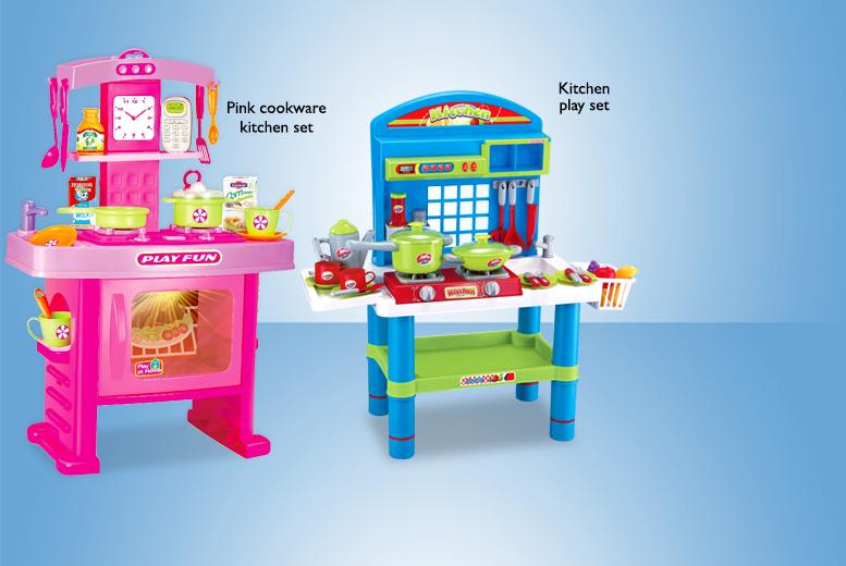 Zoozio Kids Kitchen Play Set