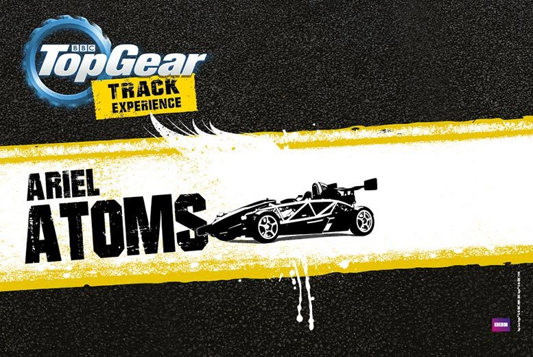 £75 for a BBC Top Gear Ariel Atom track experience with Top Gear Track Experience, Guildford - save 24%