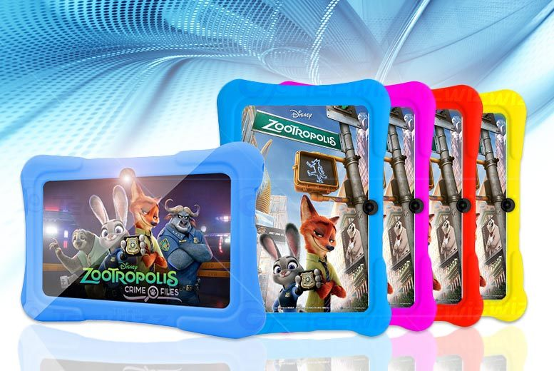 7″ Kid's Quad Core Android Tablet from £39
