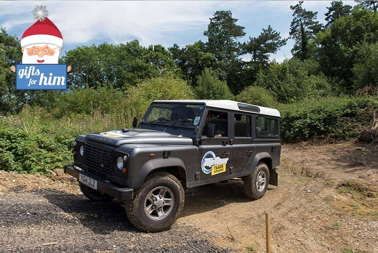£75 for a BBC Top Gear under-17s off-roading and hot lap experience bundle with Top Gear Track Experience, Guildford - save 29%