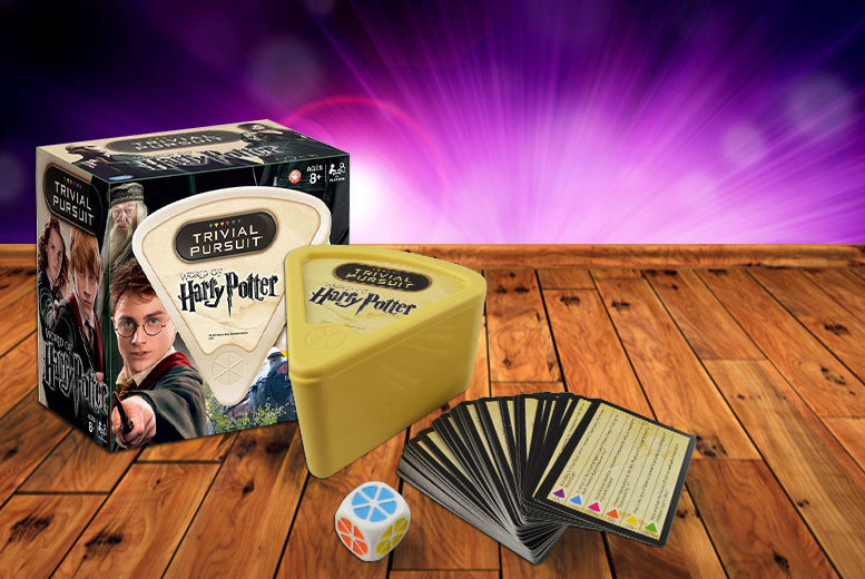 £6.99 instead of £16 (from Linen Ideas) for Harry Potter Trivial Pursuit - show off your wonderful wizarding knowledge and save 56%
