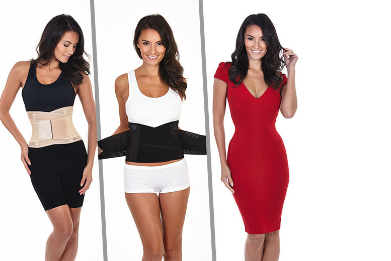 £14 instead of £29.99 for a 'waist trainer' belt - choose from two colours and save 53%