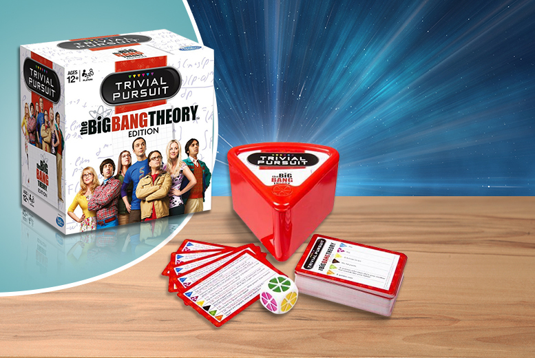 £6.99 instead of £16 (from Linen Ideas) for The Big Bang Theory Trivial Pursuit - save 56%