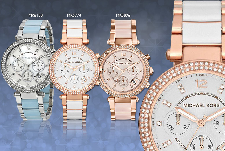 £149 instead of up to £279 for a ladies' Michael Kors bracelet watch - choose from three designs and save up to 47%