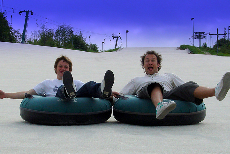 Sno-Tubing and Tobogganing for 2 or 4