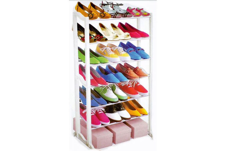 £6.99 instead of £15.99 for a seven-tier shoe rack that holds 21 pairs from Ckent Ltd - save 56%