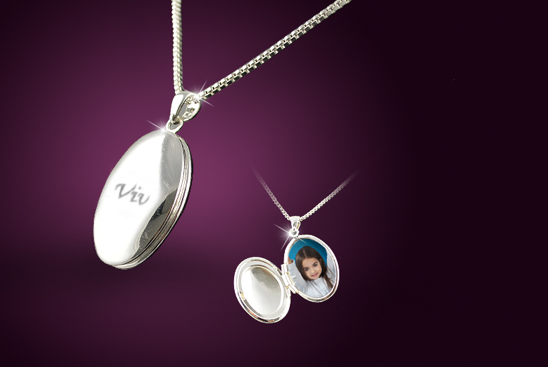 Personalised Oval Locket - 3 Colours!